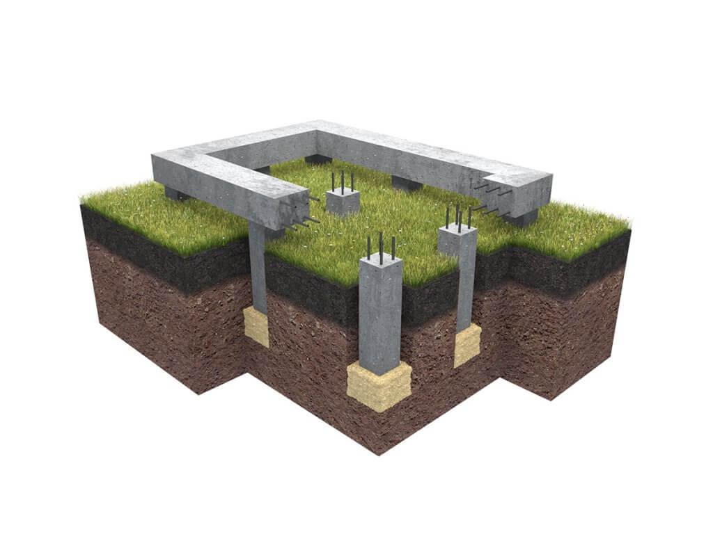 Фундамент палі