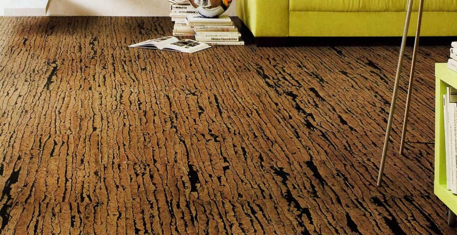 Коркове покриття на підлозі