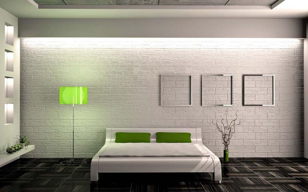 Мінімалізм в інтер'єрі спальні
