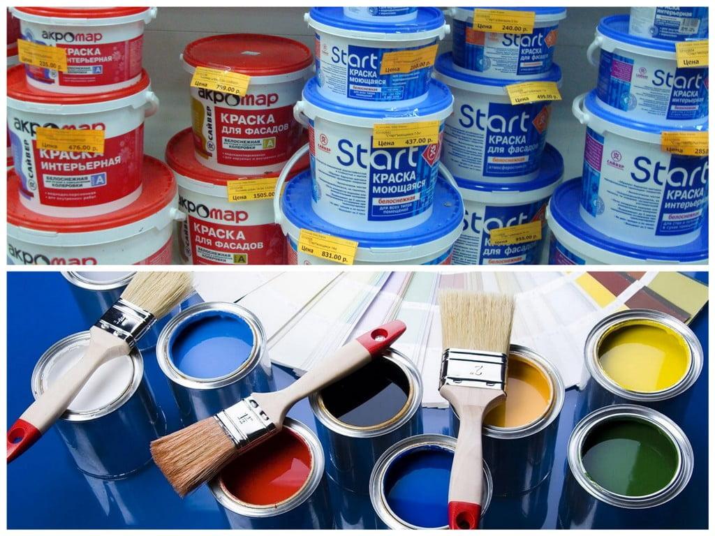 какие краски красят без разводов отзывы