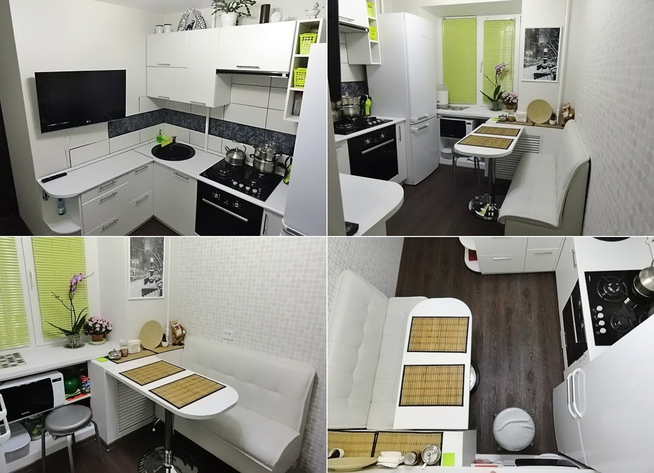 дизайн маленької кухні фото сучасні ідеї