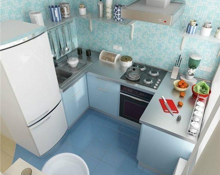Фото дизайна маленькой кухни своими руками 40
