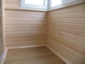 Как обшить балкон вагонкой или панелями изнутри