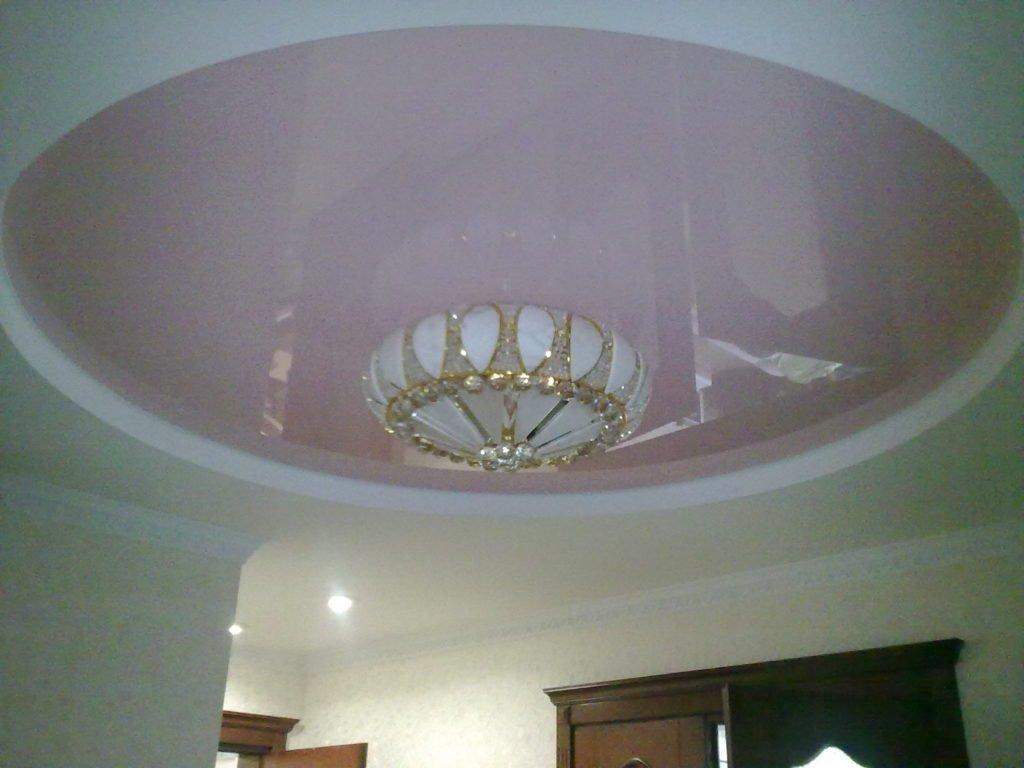 Классические натяжные потолки