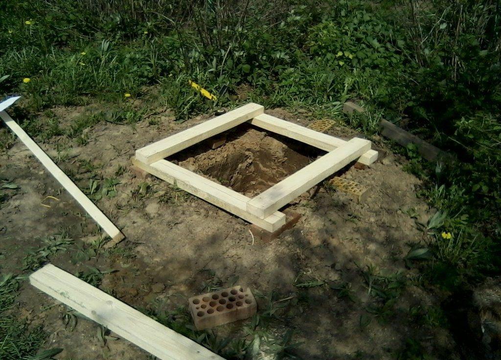 Дачный туалет построить своими руками 66