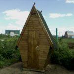Туалет на даче своими руками