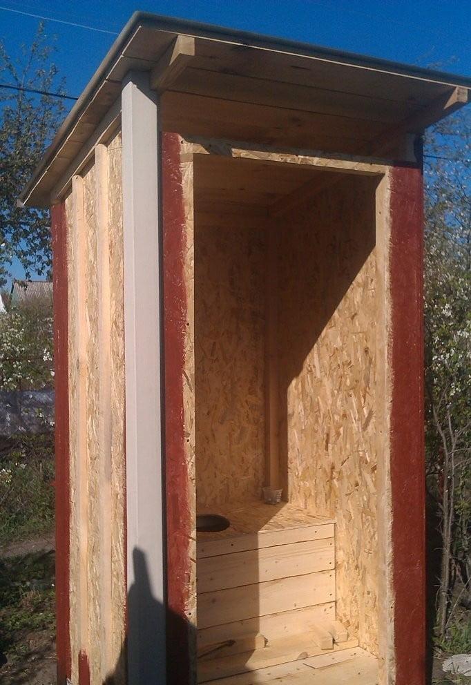 Туалет на дачі своїми руками