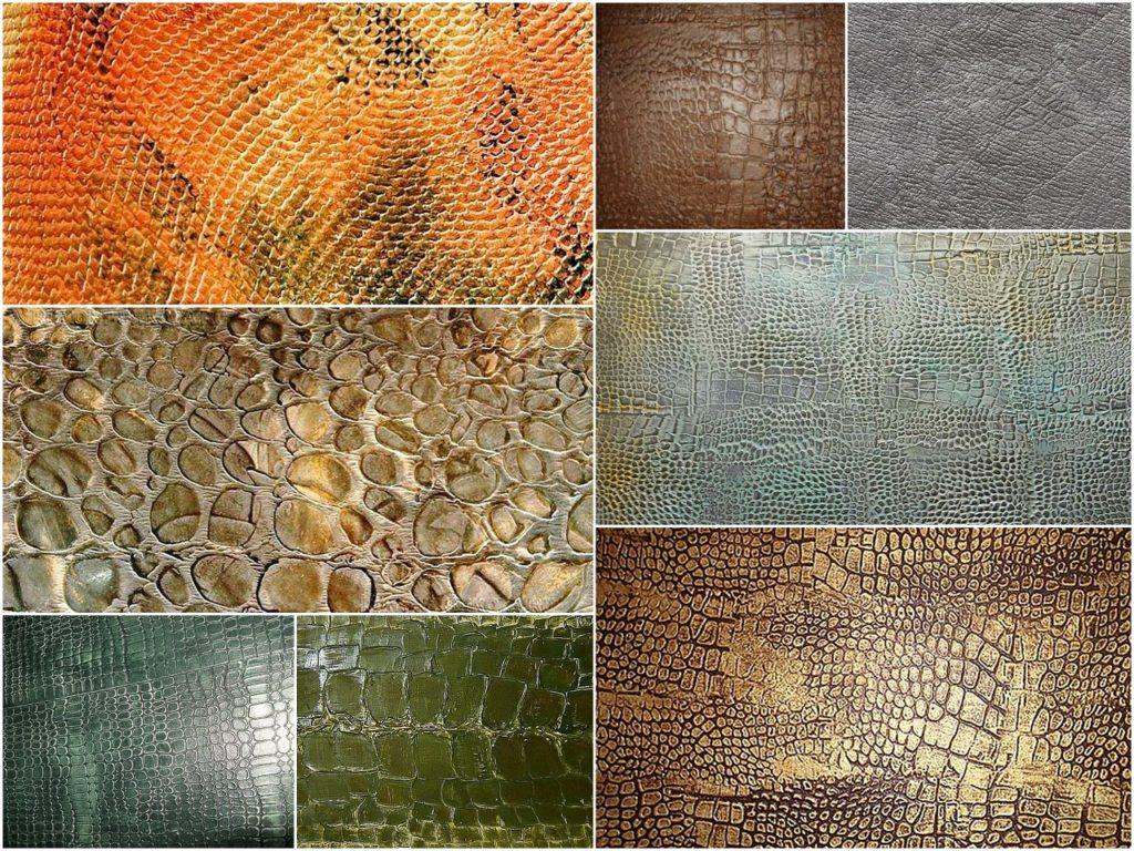Декоративная штукатурка кожа