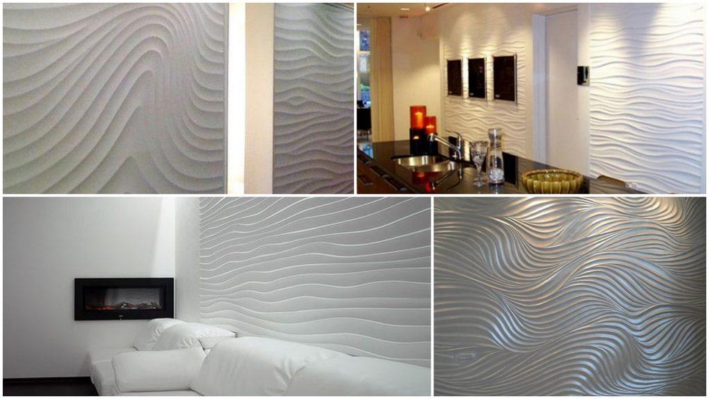 Декоративна штукатурка хвиля