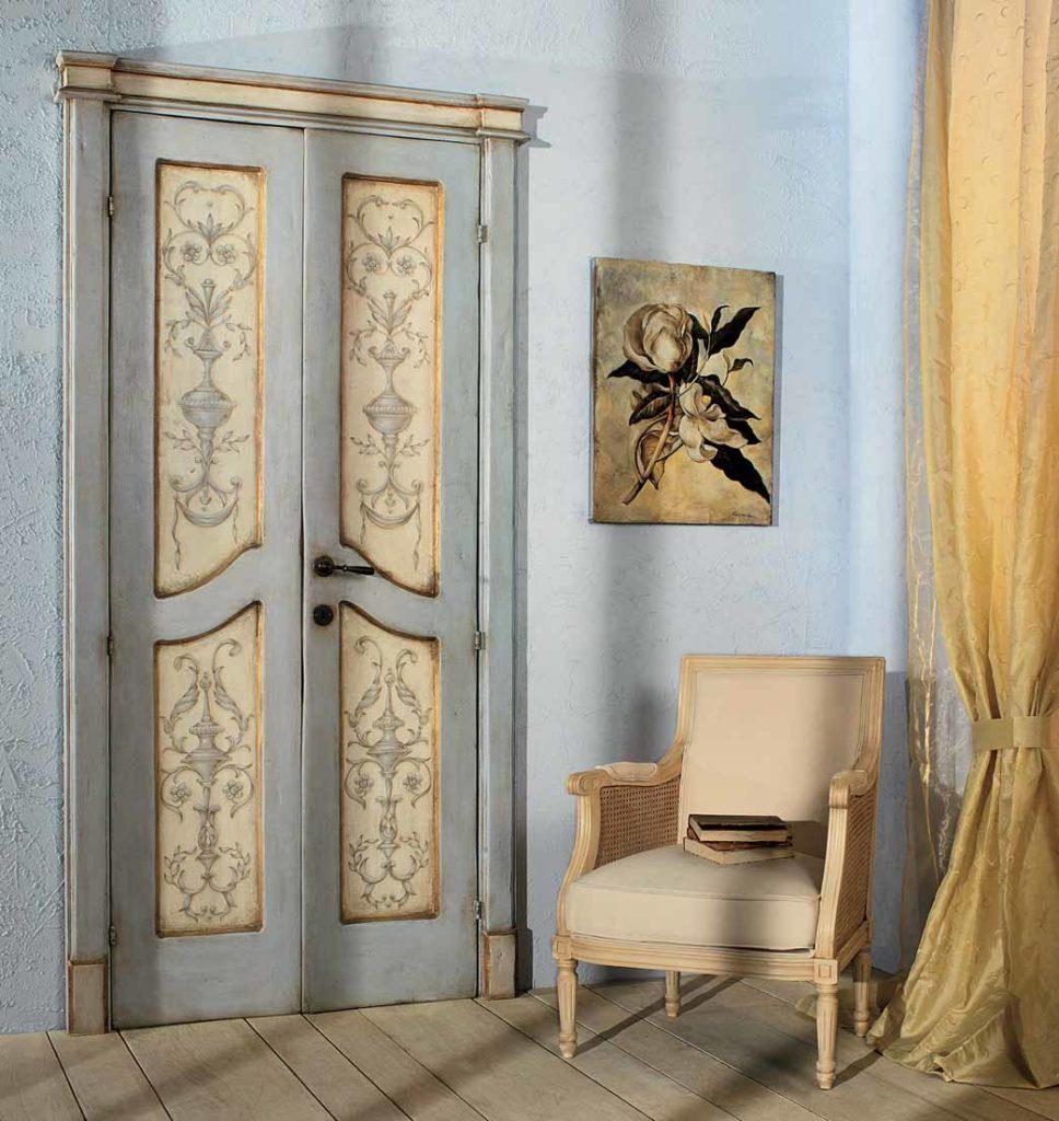 Двері в стилі прованс