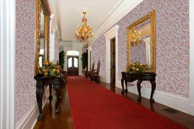 Рідкі шпалери в коридорі