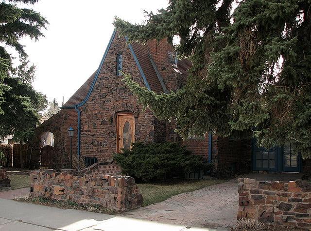 Фасад будинку з клінкерної цегли