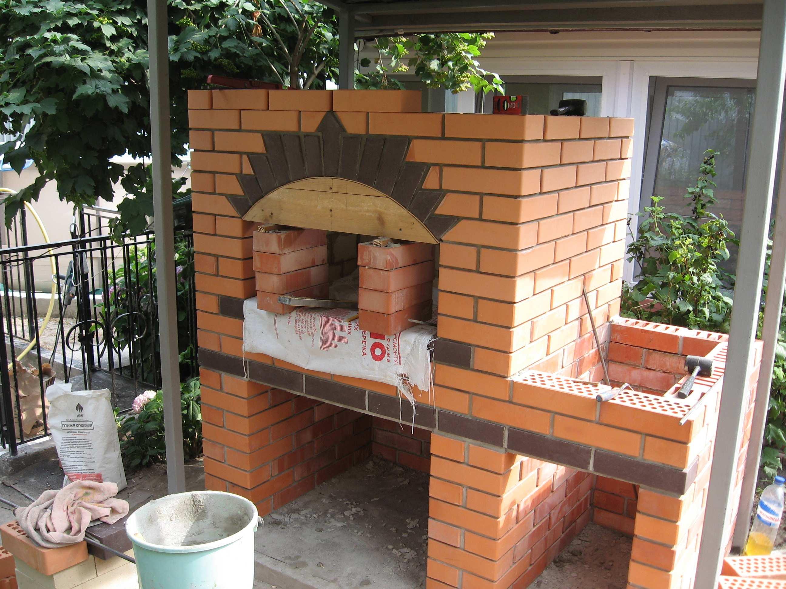 Построить схему барбекю