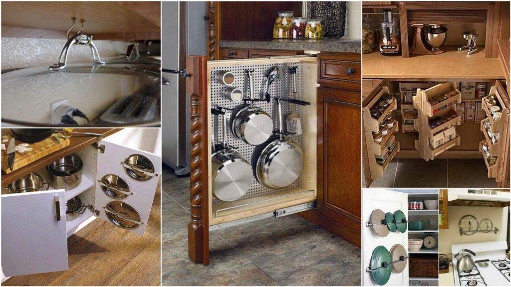 Идеи для хранения вещей на кухне