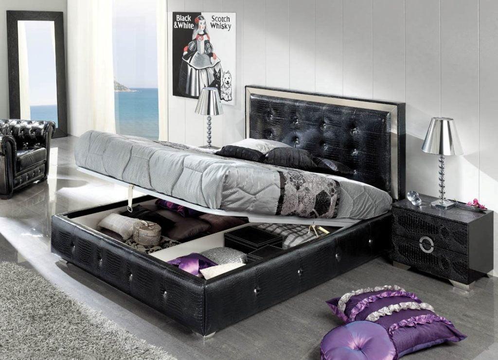 Ліжко з механізмом що піднімається вгору