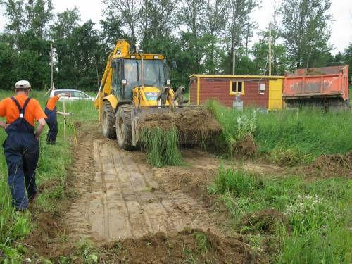 Подготовка участка к постройке