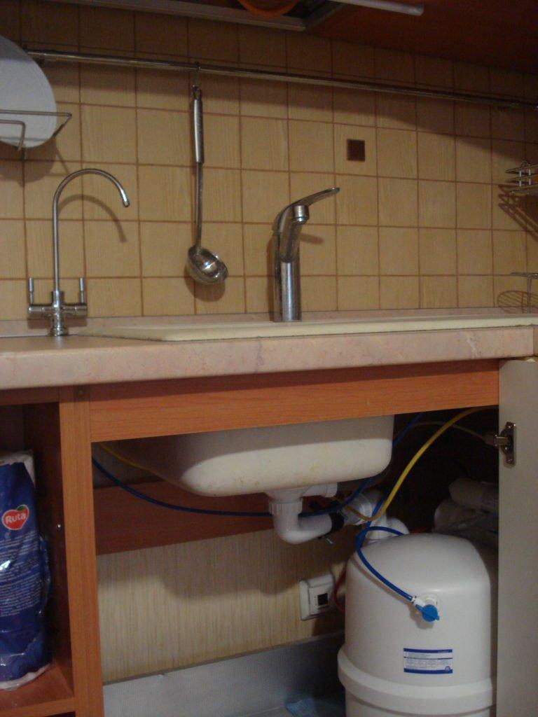 Фильтр для воды под мойку
