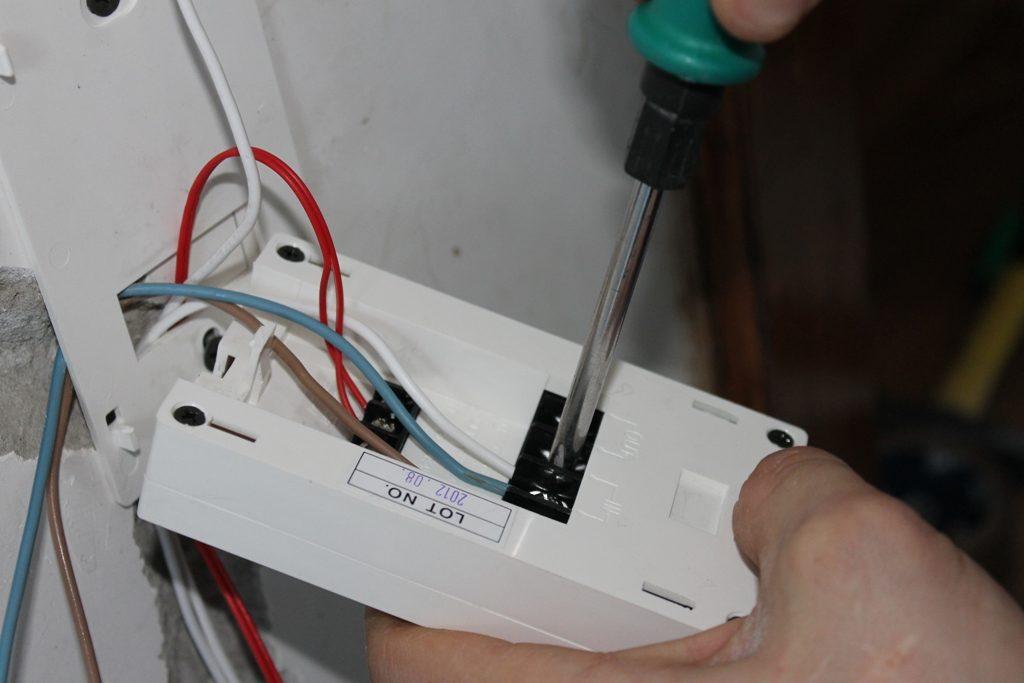 Підключення термодатчика інфрачервоної теплої підлоги