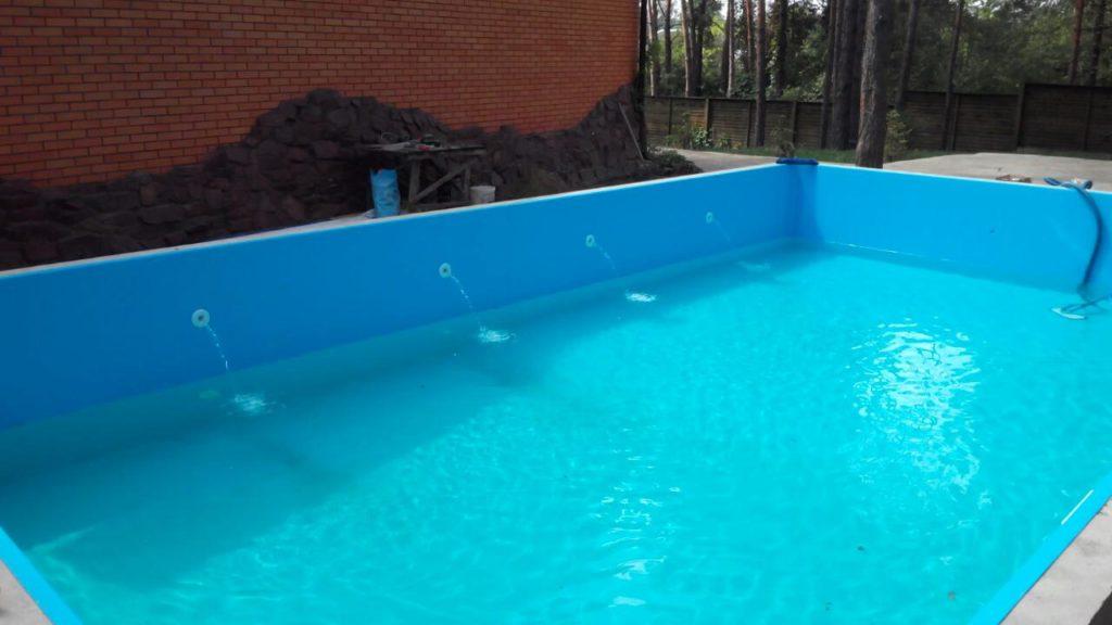 Побудова басейну на дачі поетапно