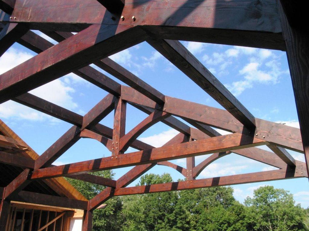 Крыша стропильная конструкция