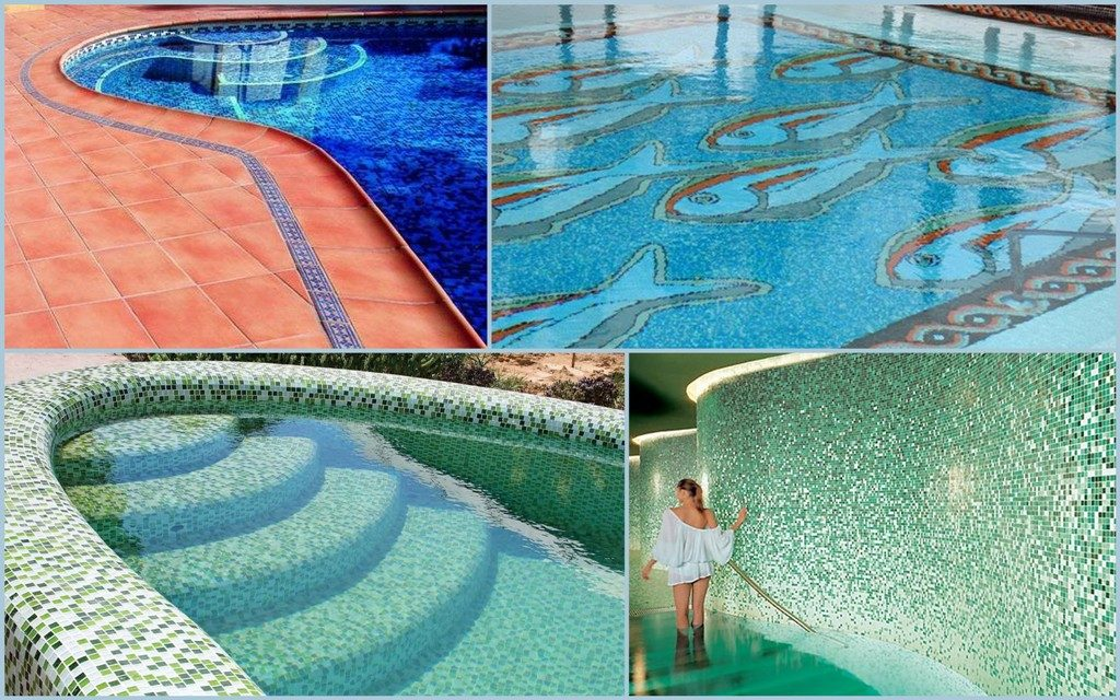 Оздоблення басейну плиткою