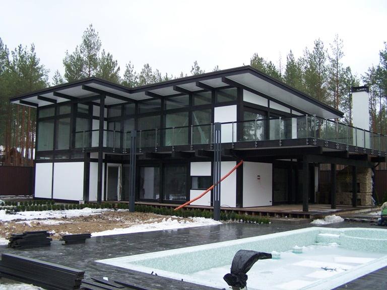 Постройка фахверкового дома