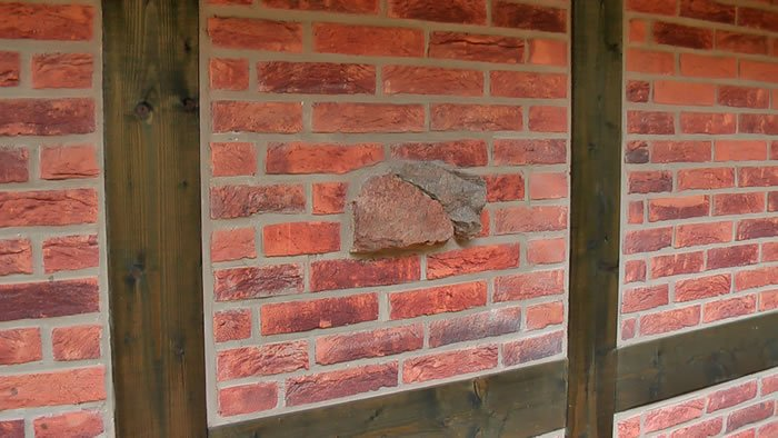 Заполнение стен фахверкового дома
