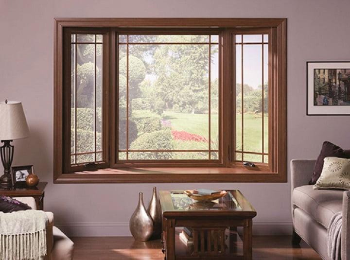 Окно в интерьере