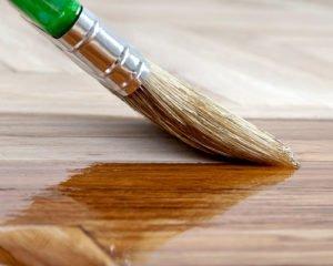 Пропитка древесины льняным маслом