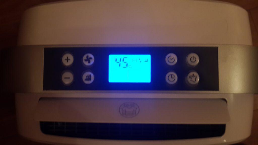 Циферблат климатической установки