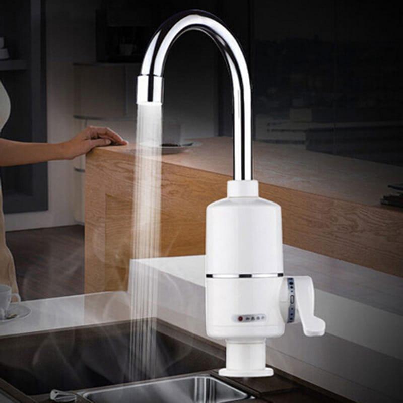 Безнапорный электрический проточный водонагреватель на кухню