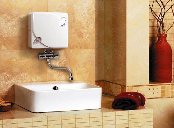 Безнапорный электрический проточный водонагреватель