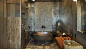 Этнический стиль ванной