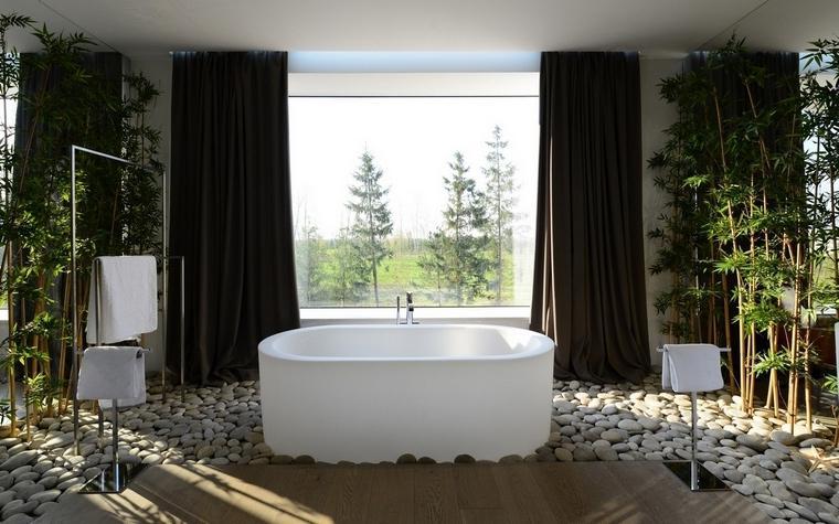 Сталева ванна в інтер'єрі