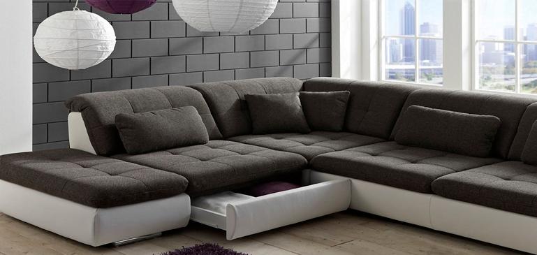Угловая софа диван хранение вещей
