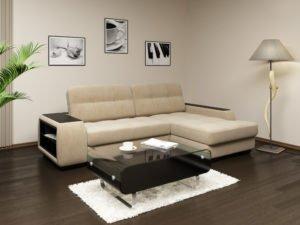 Угловая софа диван в интерьере