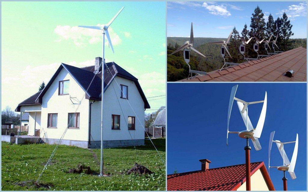 Ветрянная электростанция для дома