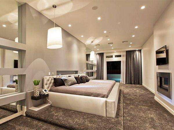 Интерьерное освещение в спальне