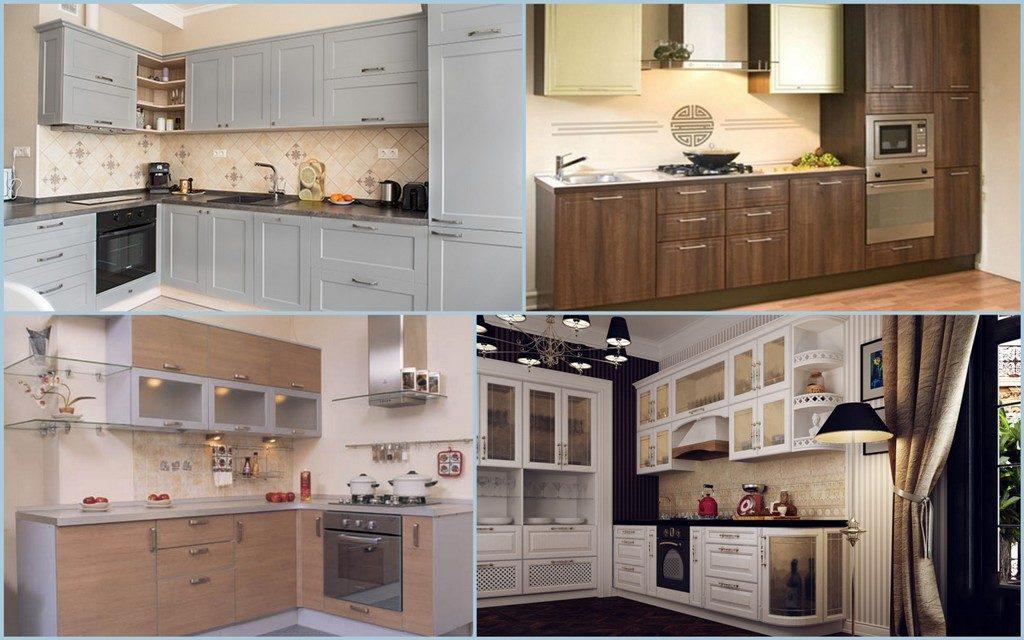 Плёночные фасады для кухни