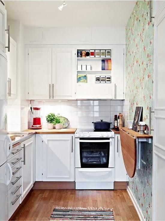 Як зробити невелику кухню зручною. Поради та фото