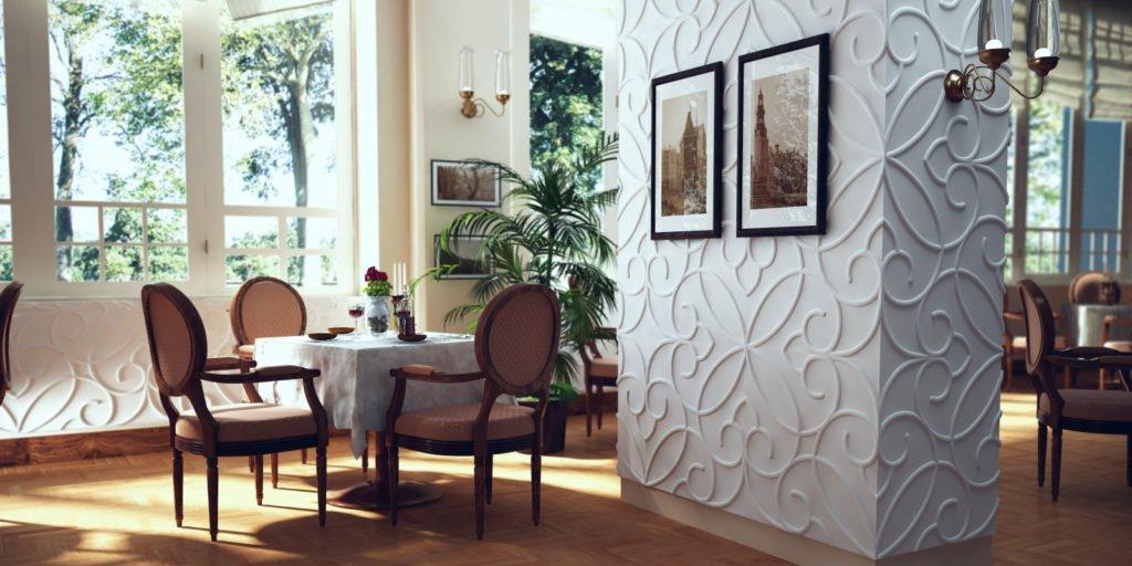 Гіпсові 3D панелі для стін