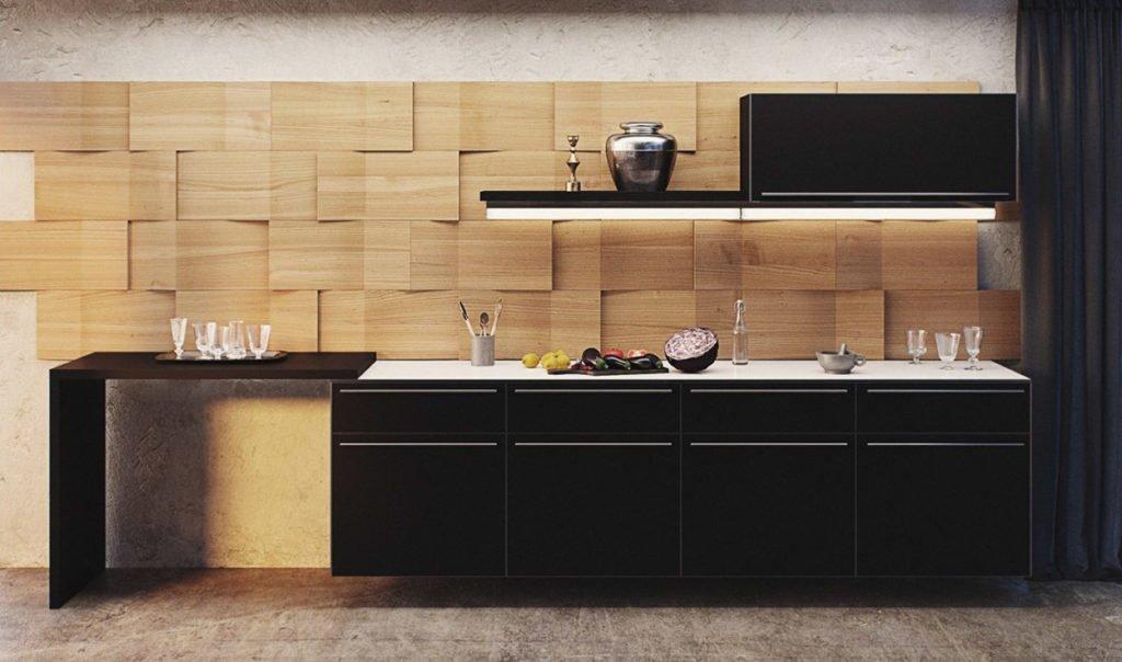 Стінові панелі для кухні з МДФ