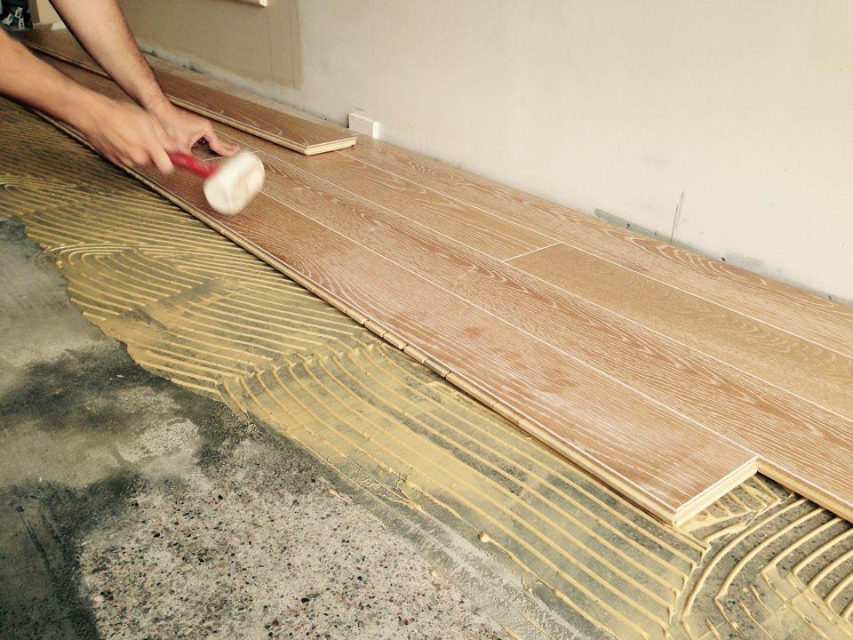 Укладання інженерної дошки для підлоги