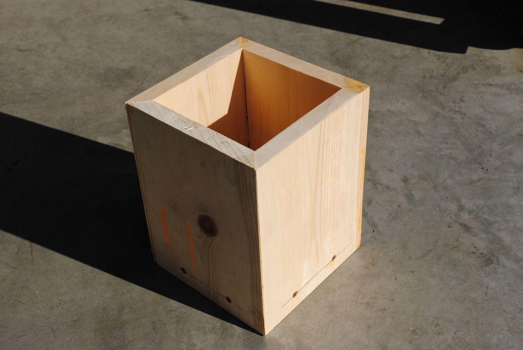 Ящик з фанери фото