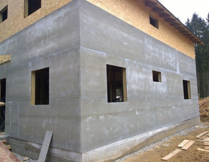 Плиты ЦСП применение для отделки фасада дома