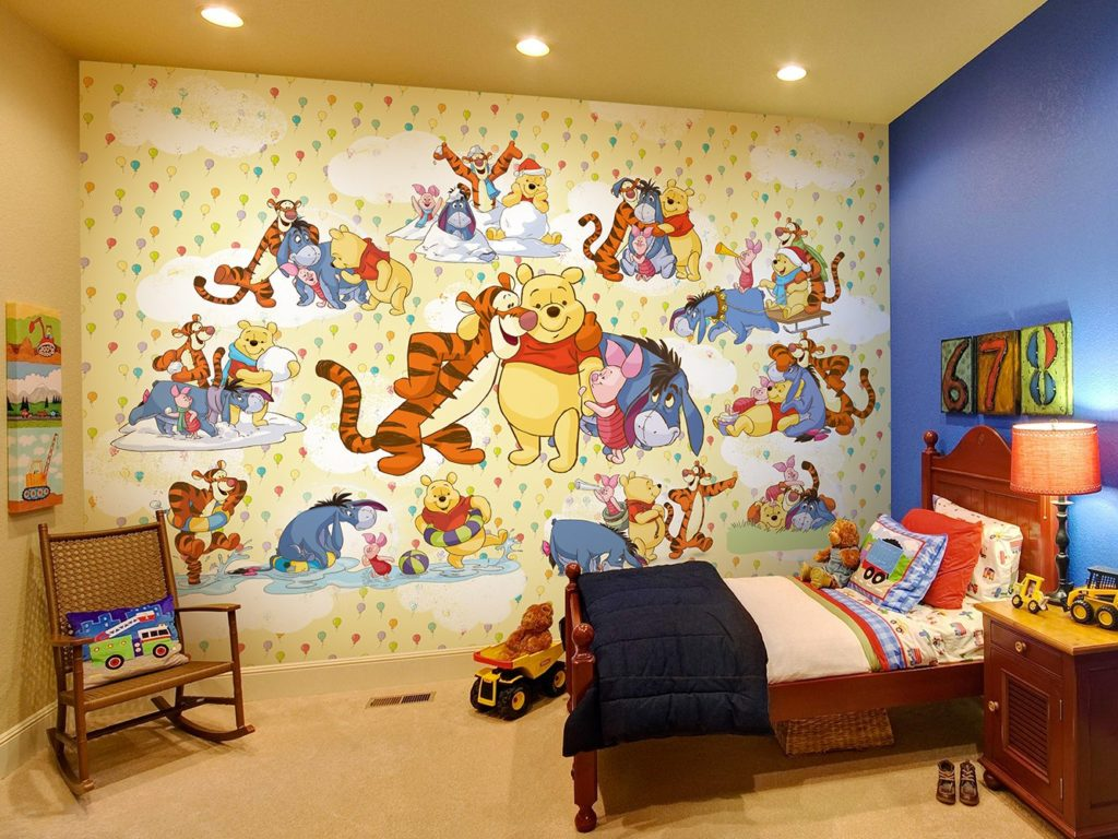 Фотообои в детской комнате