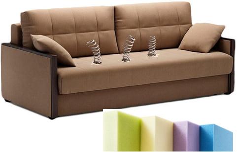 Замена поролона в диване