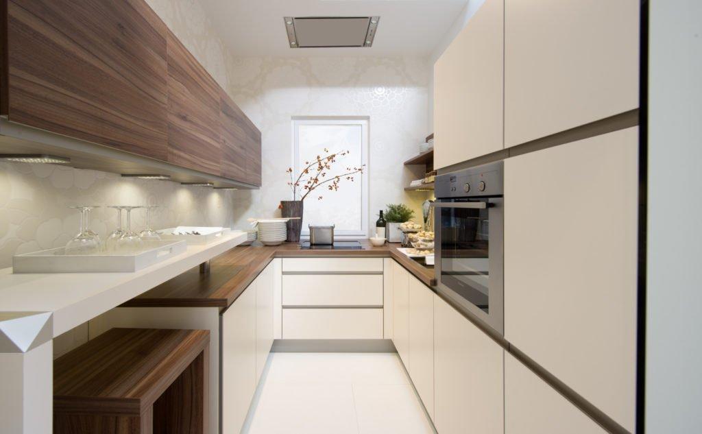 Дизайн маленькой квартиры. Кухня