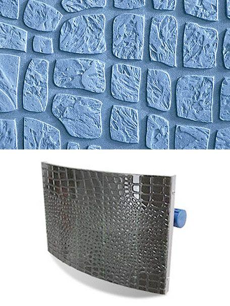 Штамп для нанесения покрытия под кожу крокодила