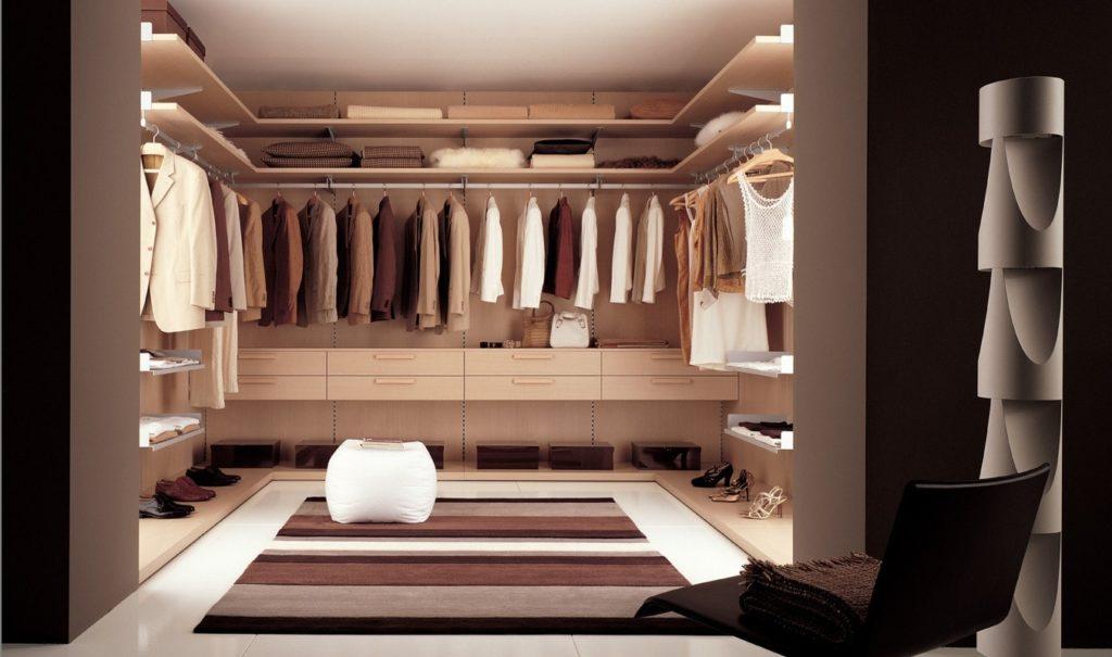 Буазери гардеробная